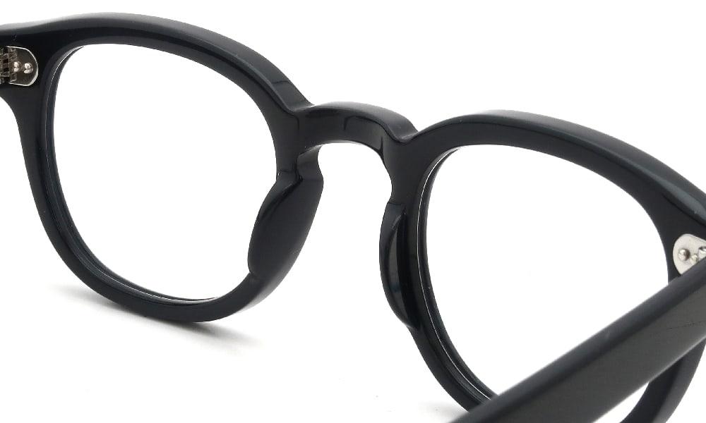 眼鏡の鼻あて・パット交換 MOSCOT LEMTOSH 46 BK 埋め込み式オールメタルパッド前