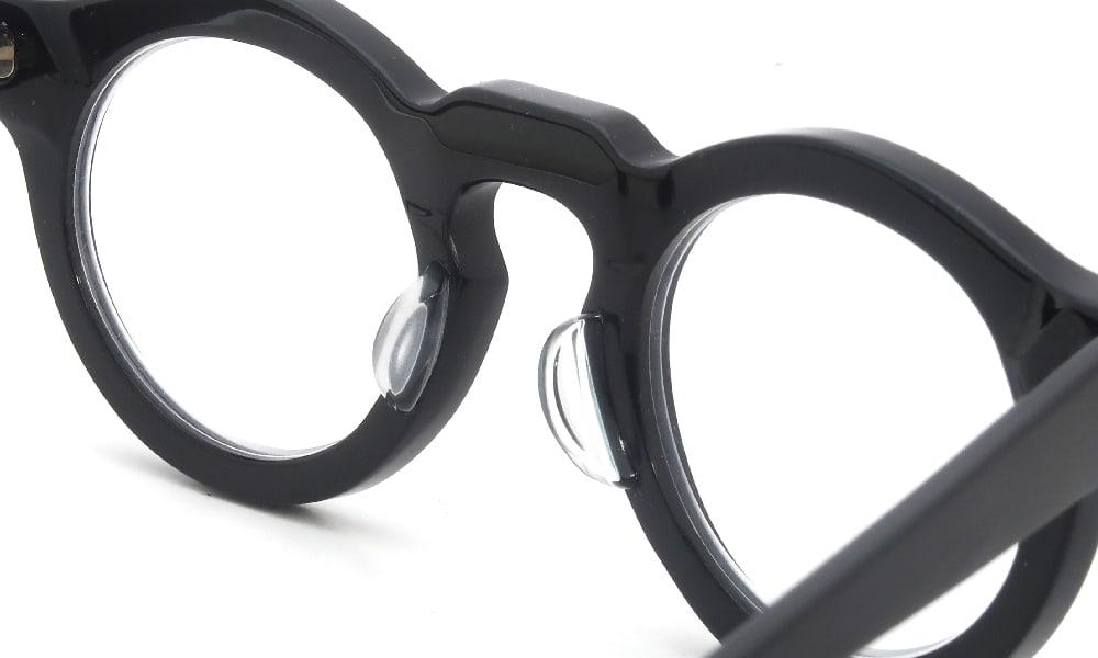 眼鏡の鼻あて・パット交換 Jacques Durand 106 002 クリアパッド中 加工後