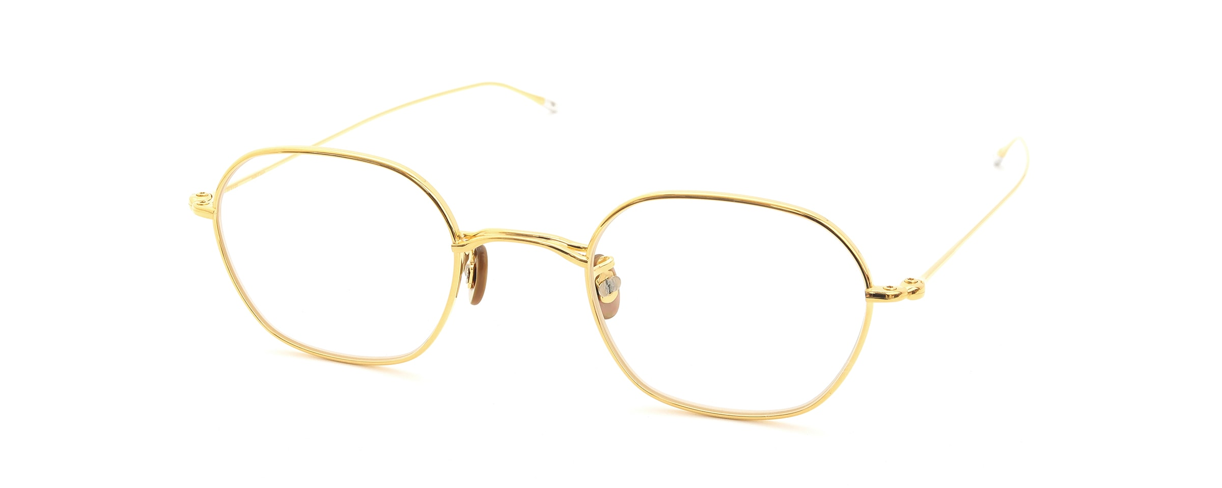10 eyevan NO.2 3S-CL LunaGold全体像