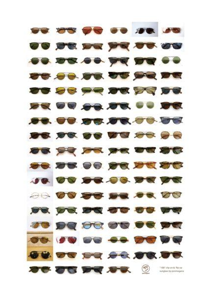 100ユーザーのクリップオンサングラス