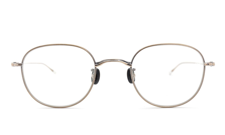 10 eyevan NO.1 4S-CL OldGold  正面詳細