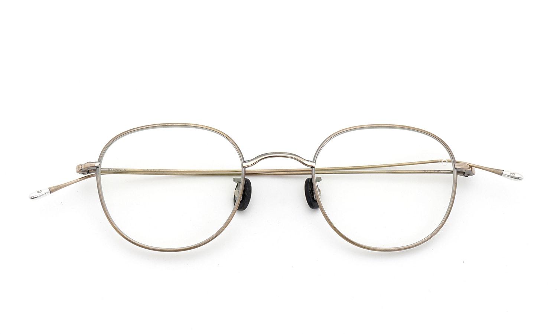 10 eyevan NO.1 4S-CL OldGold 折り畳み詳細