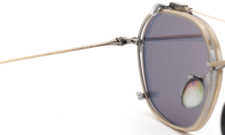 10 eyevan NO.2 +SLIDE CLIP 4S-CL OldGold 10