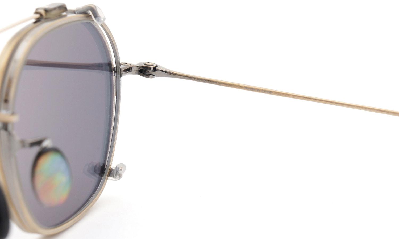 10 eyevan NO.2 +SLIDE CLIP 4S-CL OldGold 12