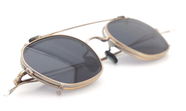 10 eyevan NO.2 +SLIDE CLIP 4S-CL OldGold 14
