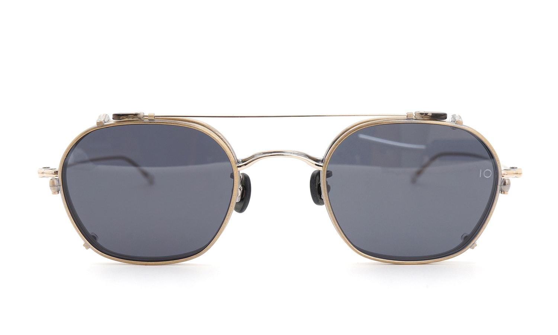 10 eyevan NO.2 +SLIDE CLIP 4S-CL OldGold  正面詳細