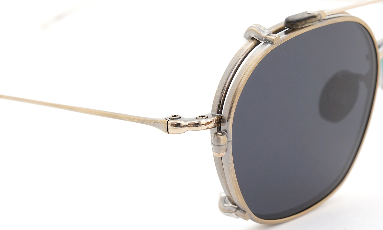 10 eyevan NO.2 +SLIDE CLIP 4S-CL OldGold ヒンジの詳細
