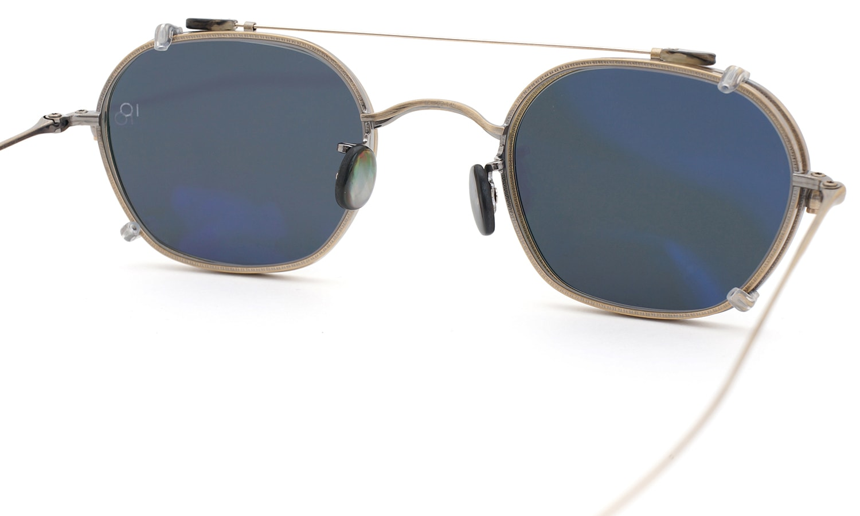 10 eyevan NO.2 +SLIDE CLIP 4S-CL OldGold 7