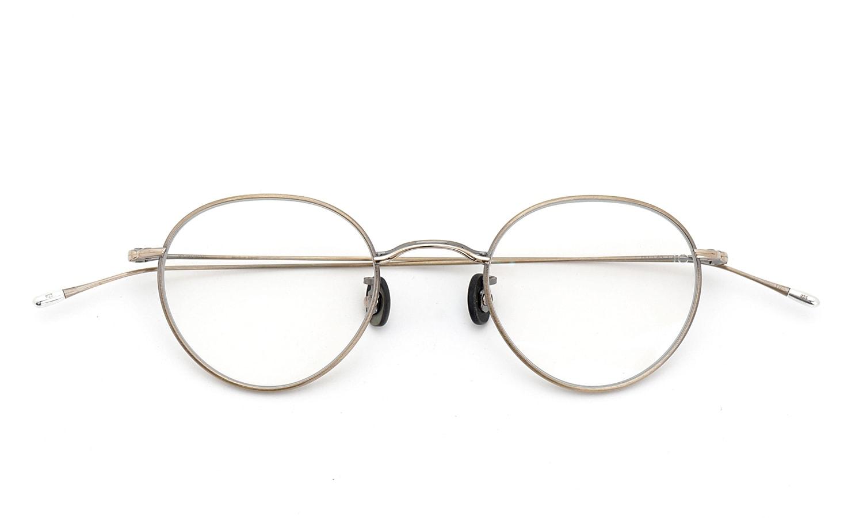 10 eyevan NO.3 45size 4S-CL OldGold 折り畳み詳細