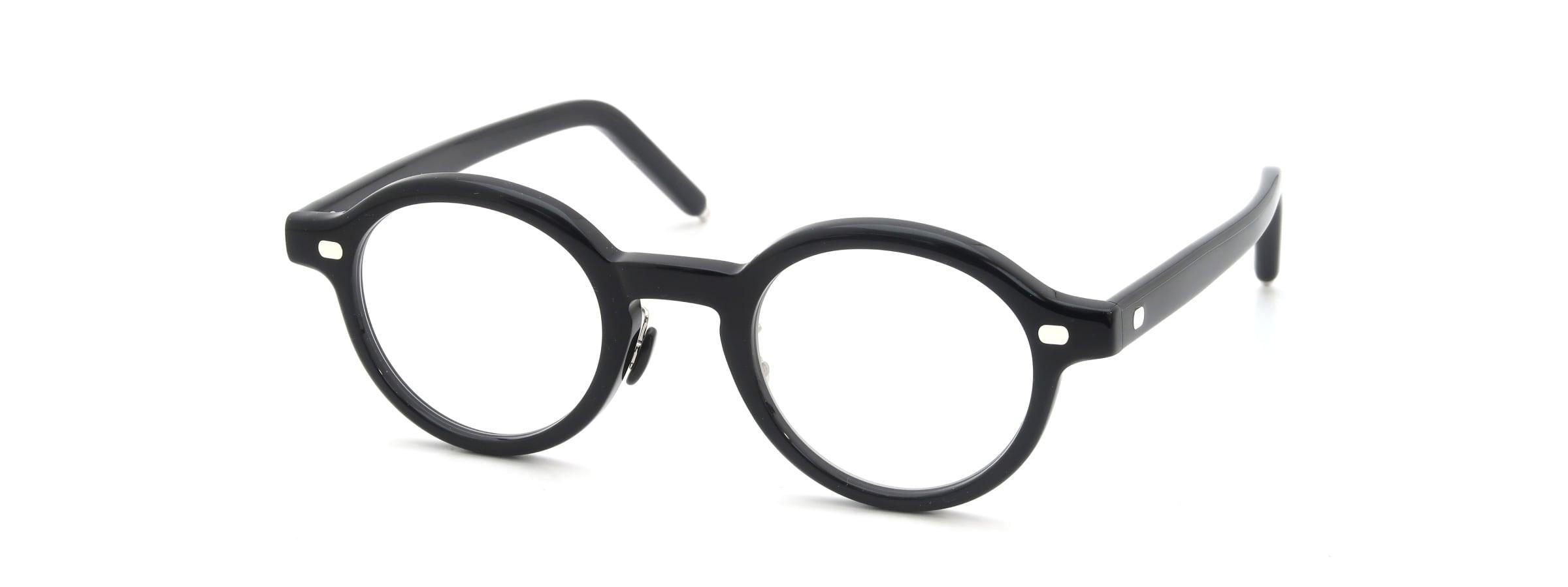 10 eyevan NO.5 Ⅲ FR 44size c.1002S Black全体像