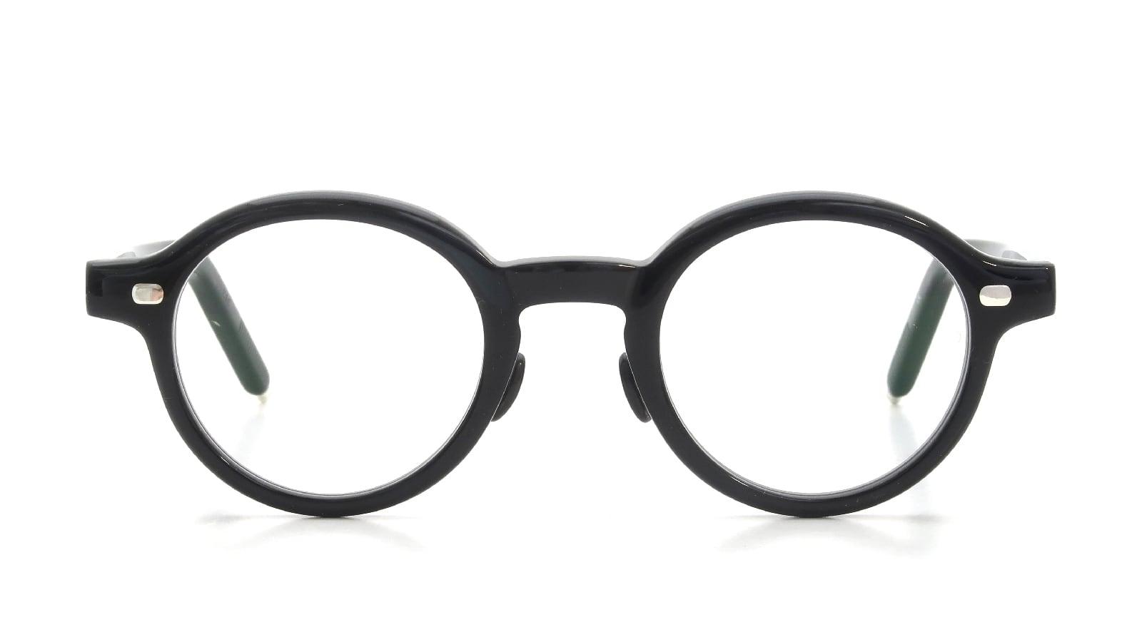 10 eyevan NO.5 Ⅲ FR 44size c.1002S Black  正面詳細