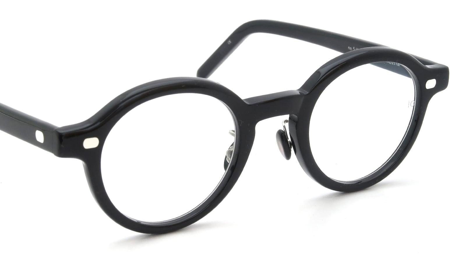 10 eyevan NO.5 Ⅲ FR 44size c.1002S Black 6