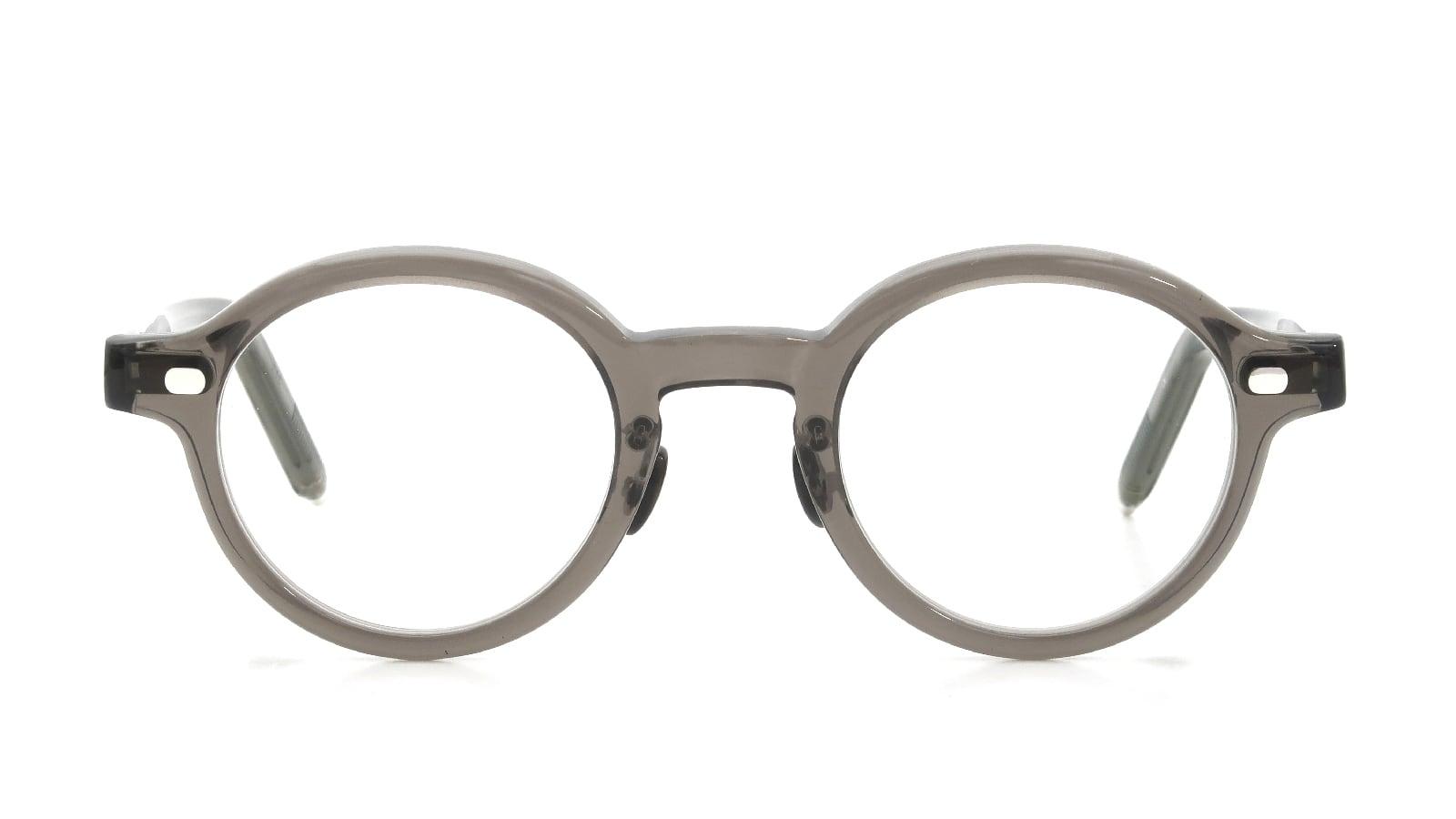 10 eyevan NO.5 Ⅲ FR 44size c.1011S Grey  正面詳細