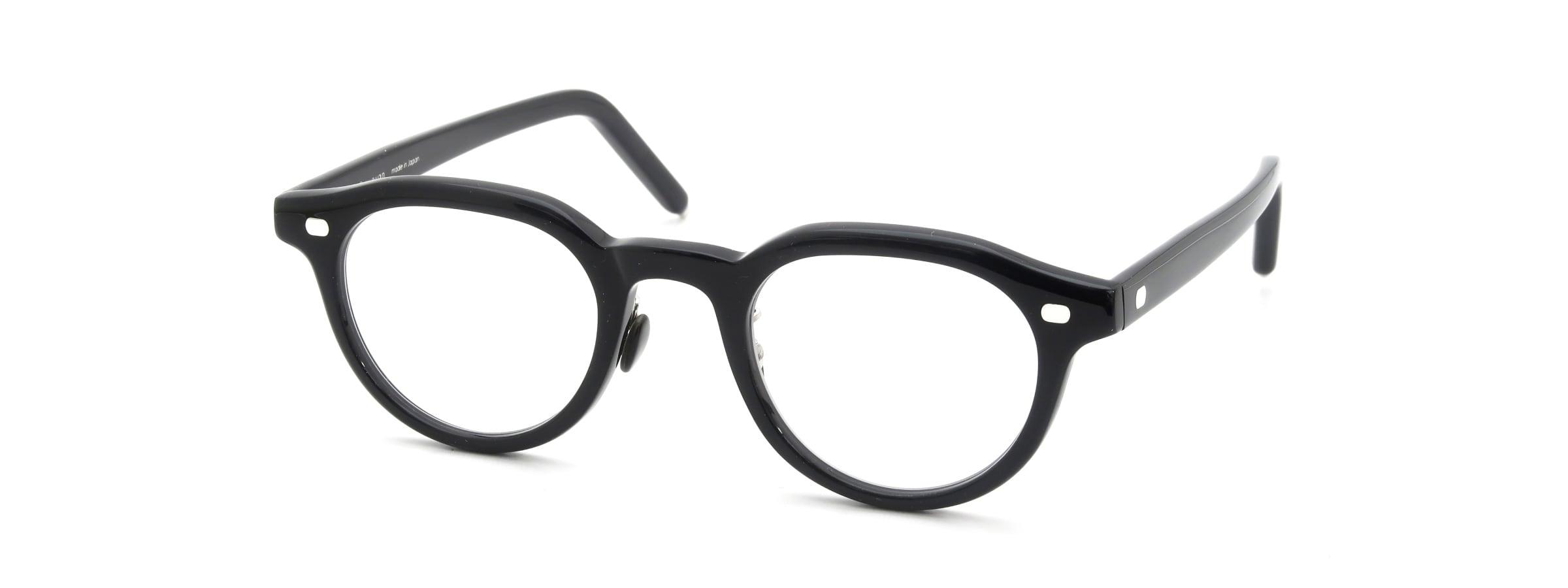 10 eyevan NO.6 Ⅲ FR 46size c.1002S Black全体像