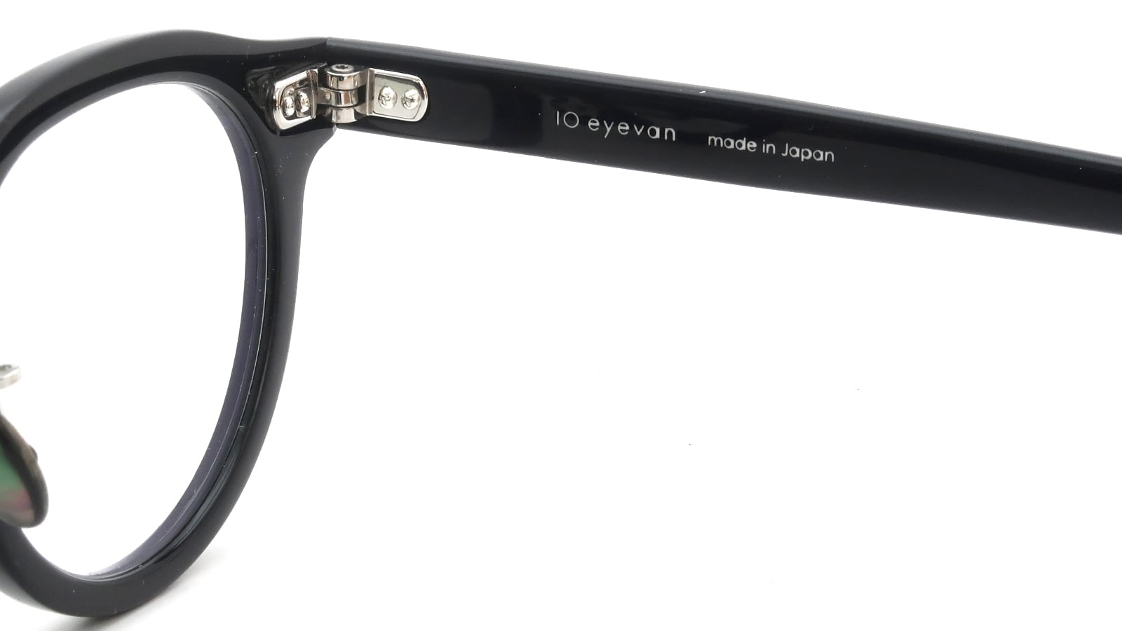 10 eyevan NO.6 Ⅲ FR 46size c.1002S Black 10