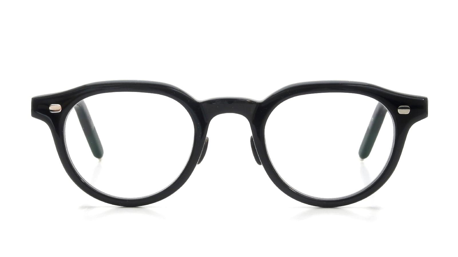 10 eyevan NO.6 Ⅲ FR 46size c.1002S Black  正面詳細