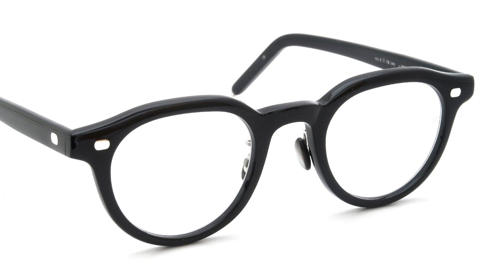10 eyevan NO.6 Ⅲ FR 46size c.1002S Black 6