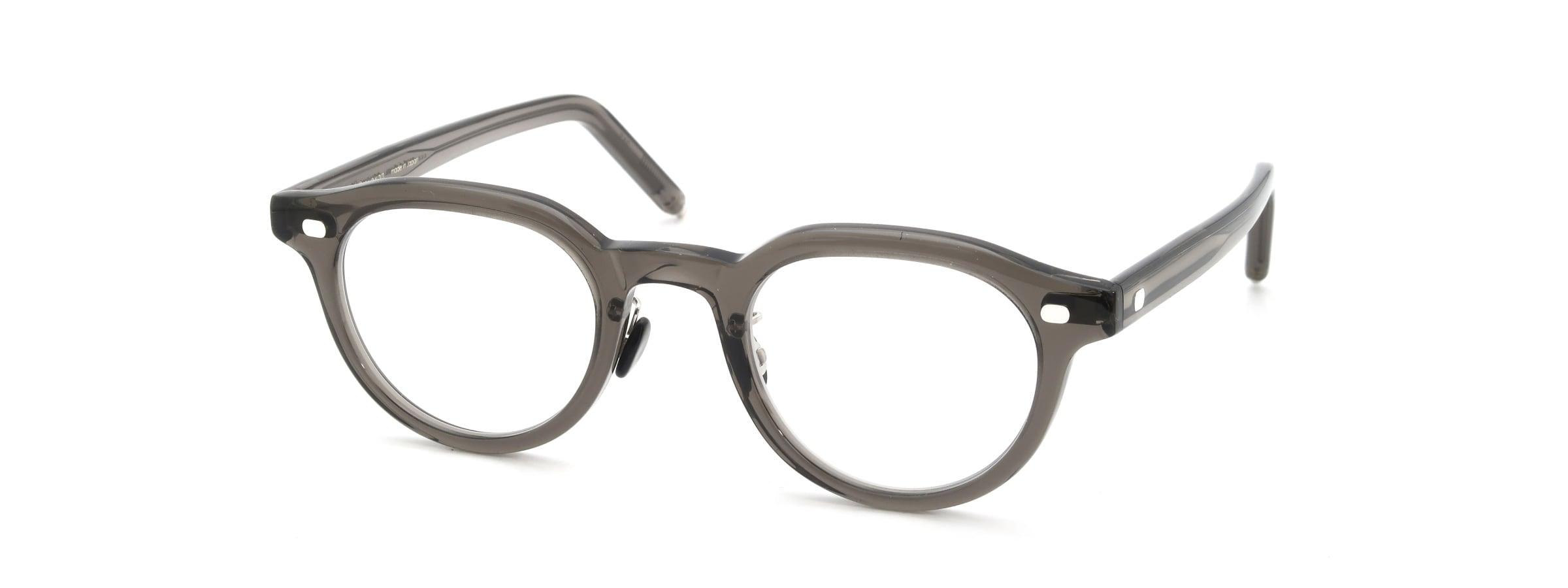 10 eyevan NO.6 Ⅲ FR 46size c.1011S Grey全体像