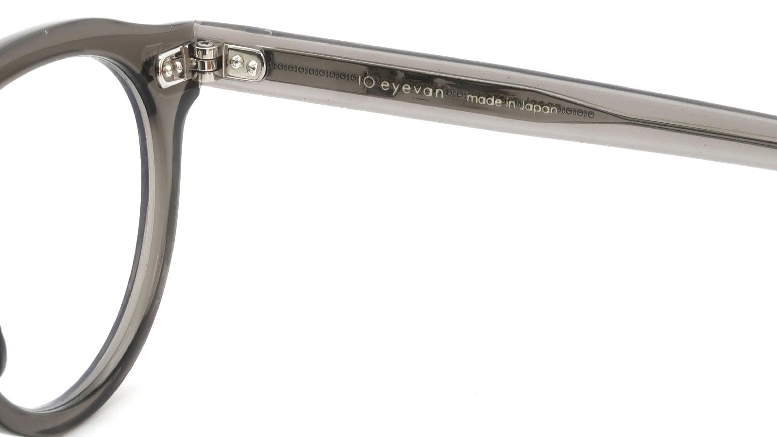 10 eyevan NO.6 Ⅲ FR 46size c.1011S Grey 10