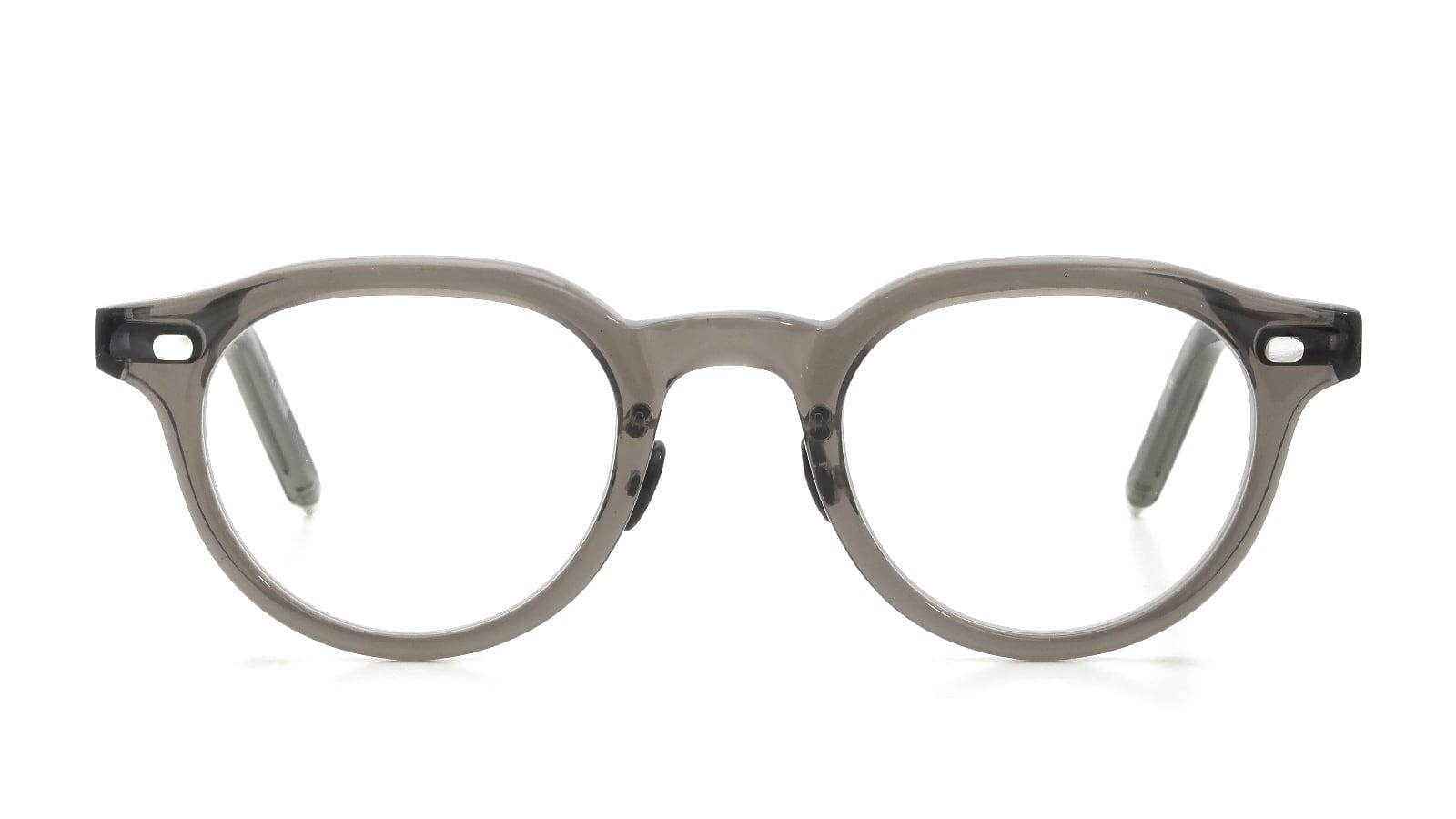 10 eyevan NO.6 Ⅲ FR 46size c.1011S Grey  正面詳細