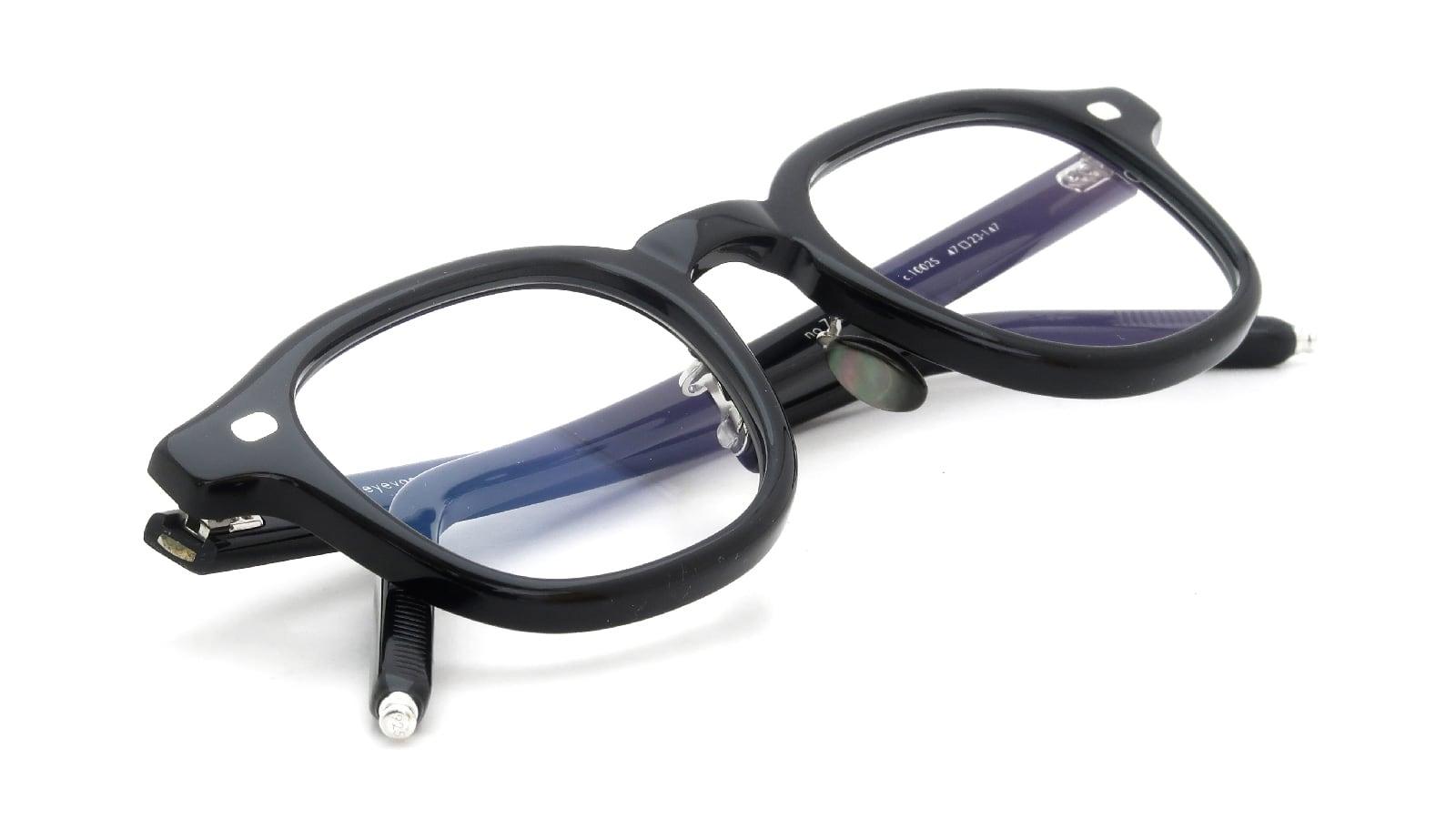10 eyevan NO.7 Ⅲ FR 47size c.1002S Black 12