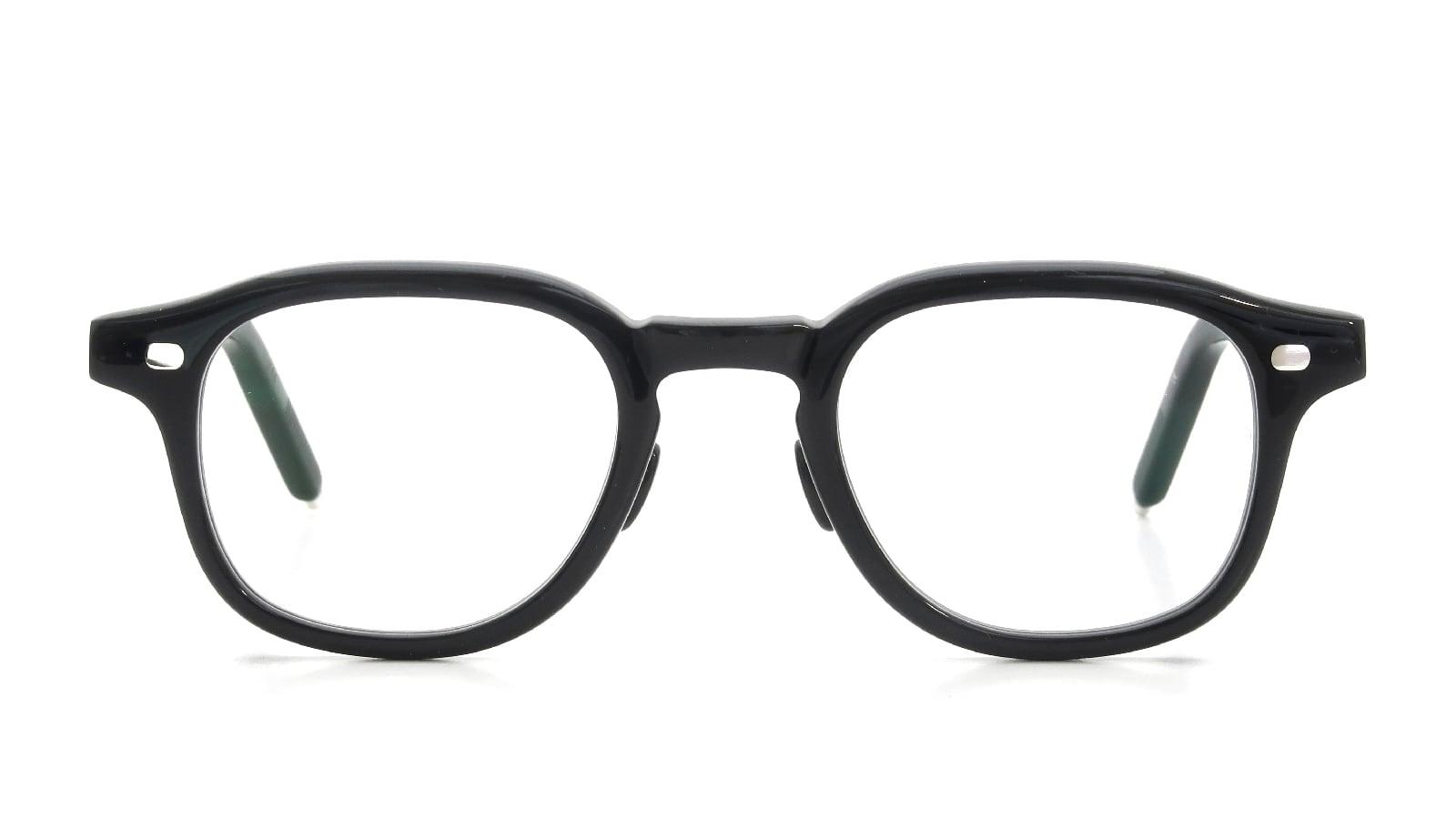10 eyevan NO.7 Ⅲ FR 47size c.1002S Black  正面詳細