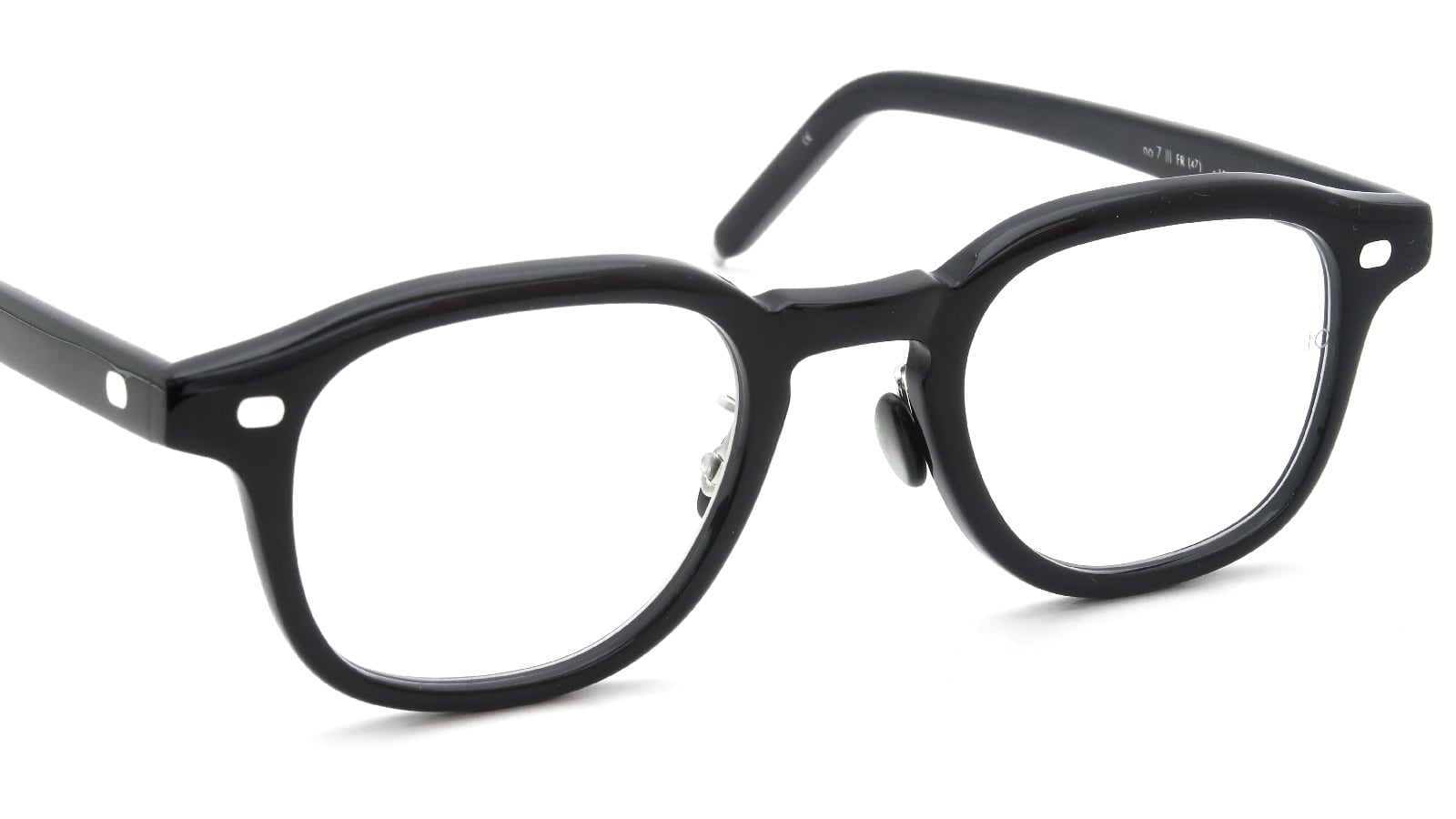 10 eyevan NO.7 Ⅲ FR 47size c.1002S Black 6