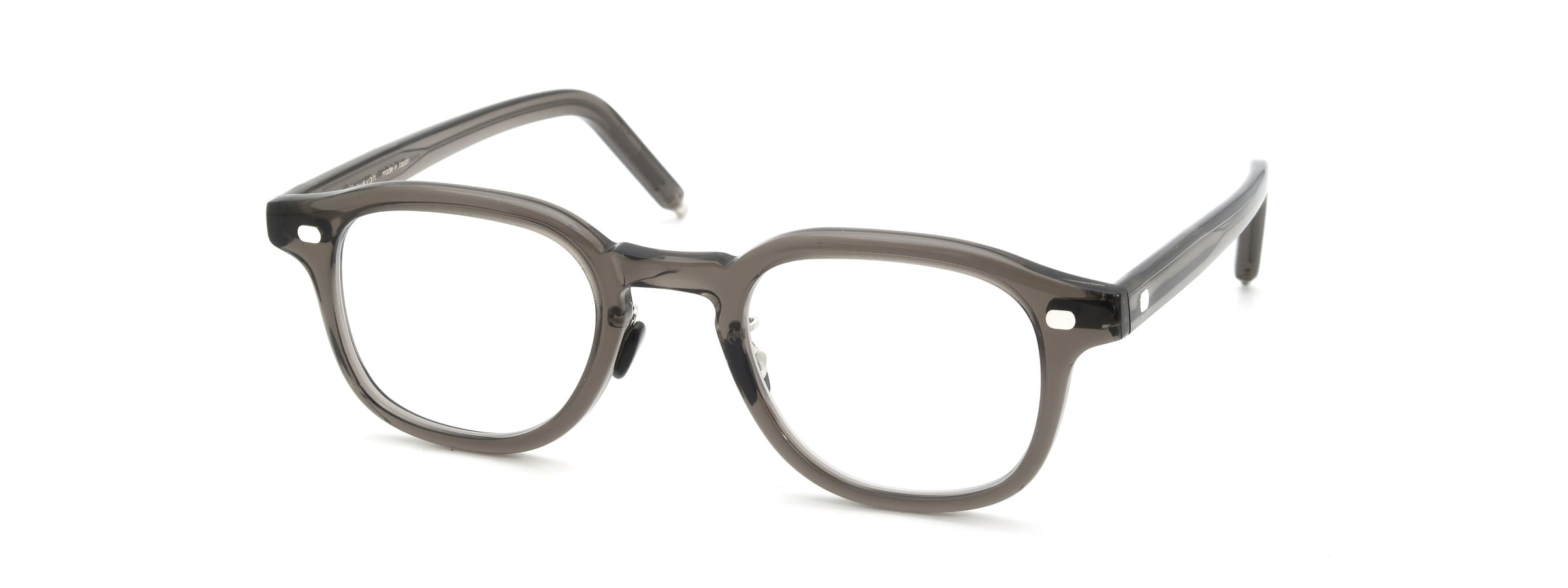 10 eyevan NO.7 Ⅲ FR 47size c.1011S Grey全体像