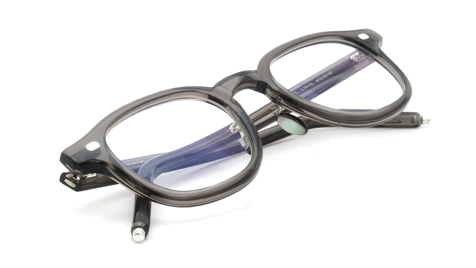 10 eyevan NO.7 Ⅲ FR 47size c.1011S Grey 12