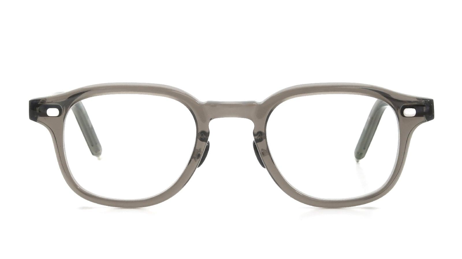 10 eyevan NO.7 Ⅲ FR 47size c.1011S Grey  正面詳細
