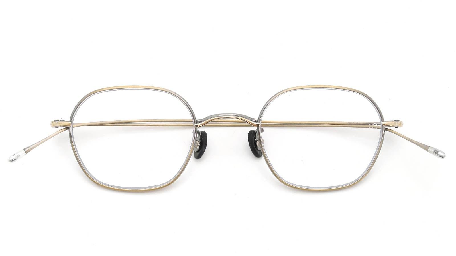 10 eyevan NO.2 4S-CL OldGold 折り畳み詳細
