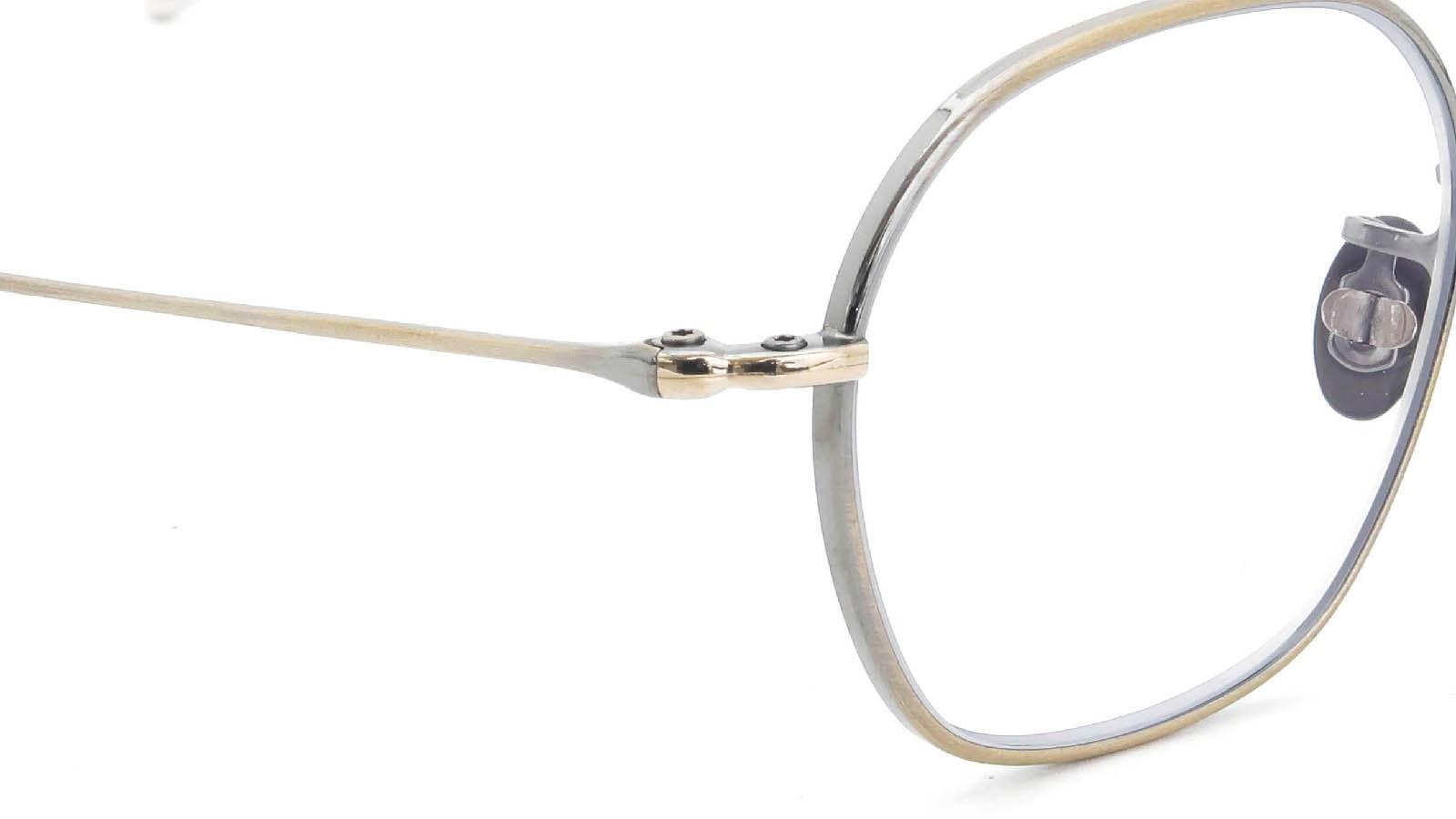 10 eyevan NO.2 4S-CL OldGold ヒンジの詳細