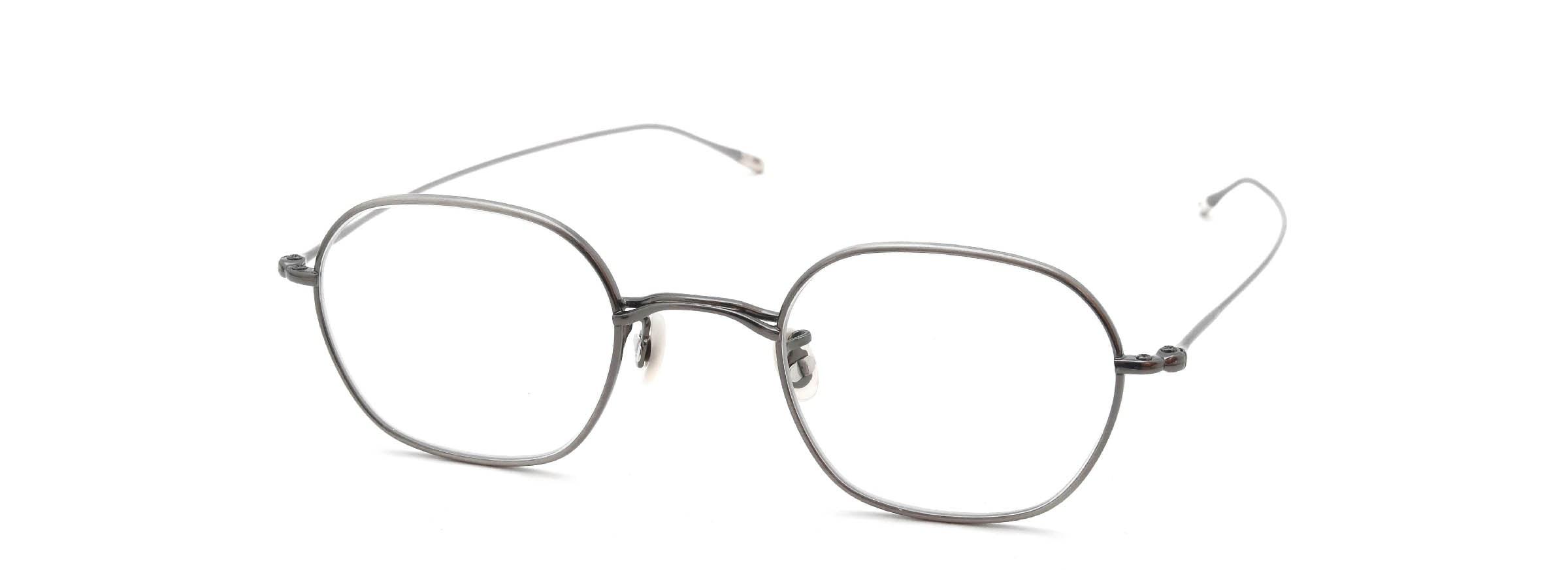 10 eyevan NO.2 5S-CL Pewter全体像