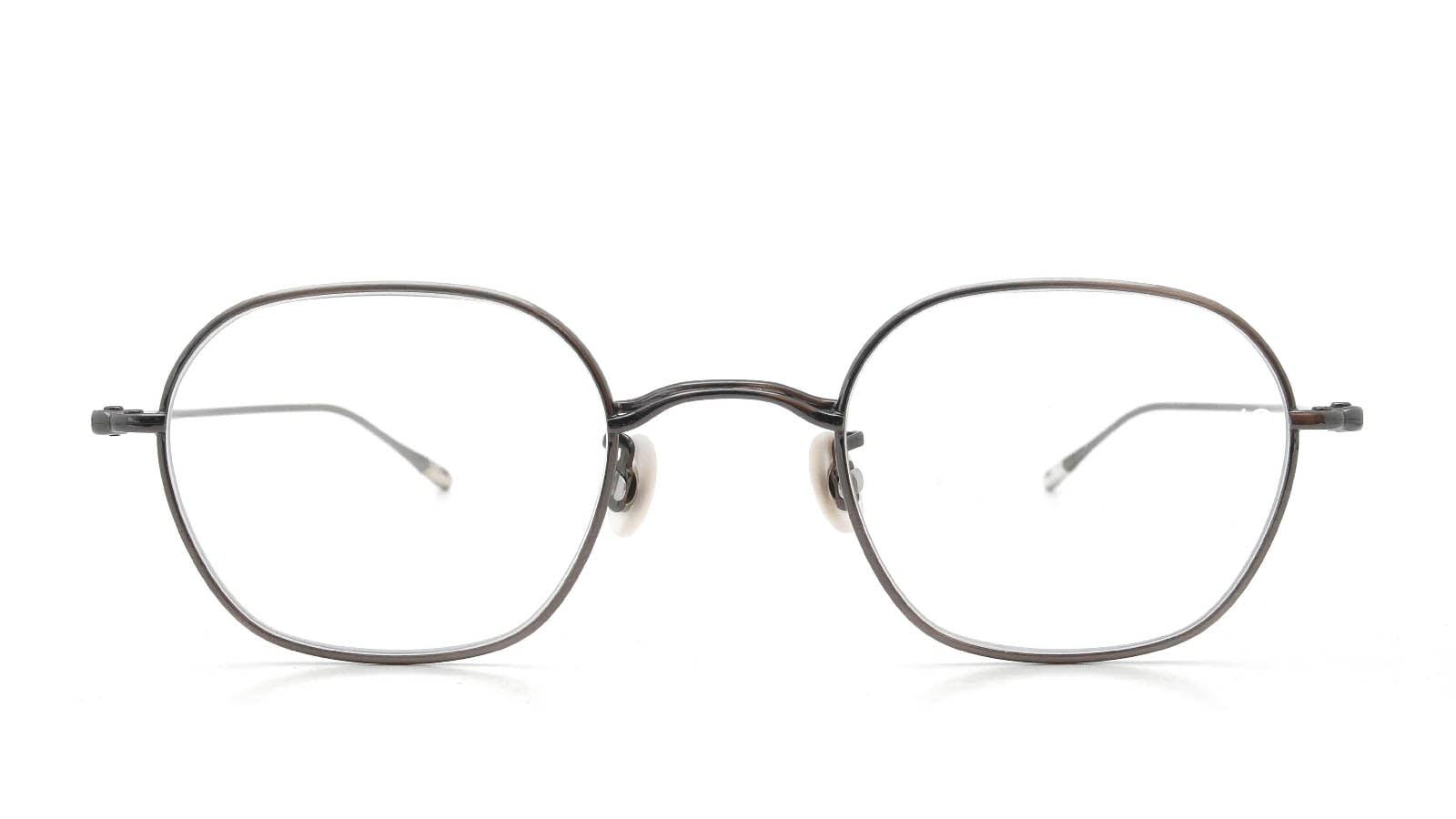 10 eyevan NO.2 5S-CL Pewter  正面詳細