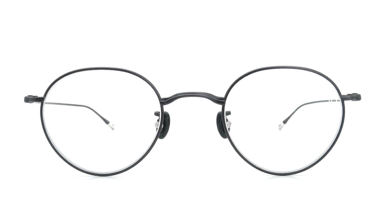 10 eyevan NO.3 45size 8S-CL MatCharcoal  正面詳細