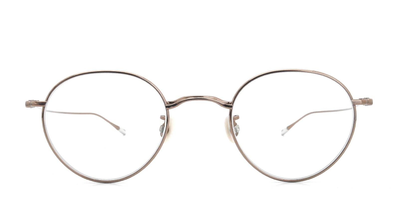 10 eyevan NO.3 45size 9S-CL BrownGold  正面詳細