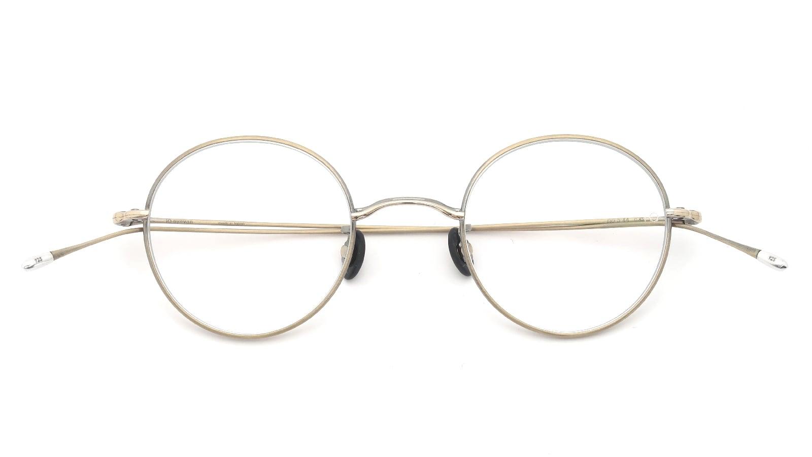 10 eyevan NO.5 44 4S-CL OldGold 折り畳み詳細