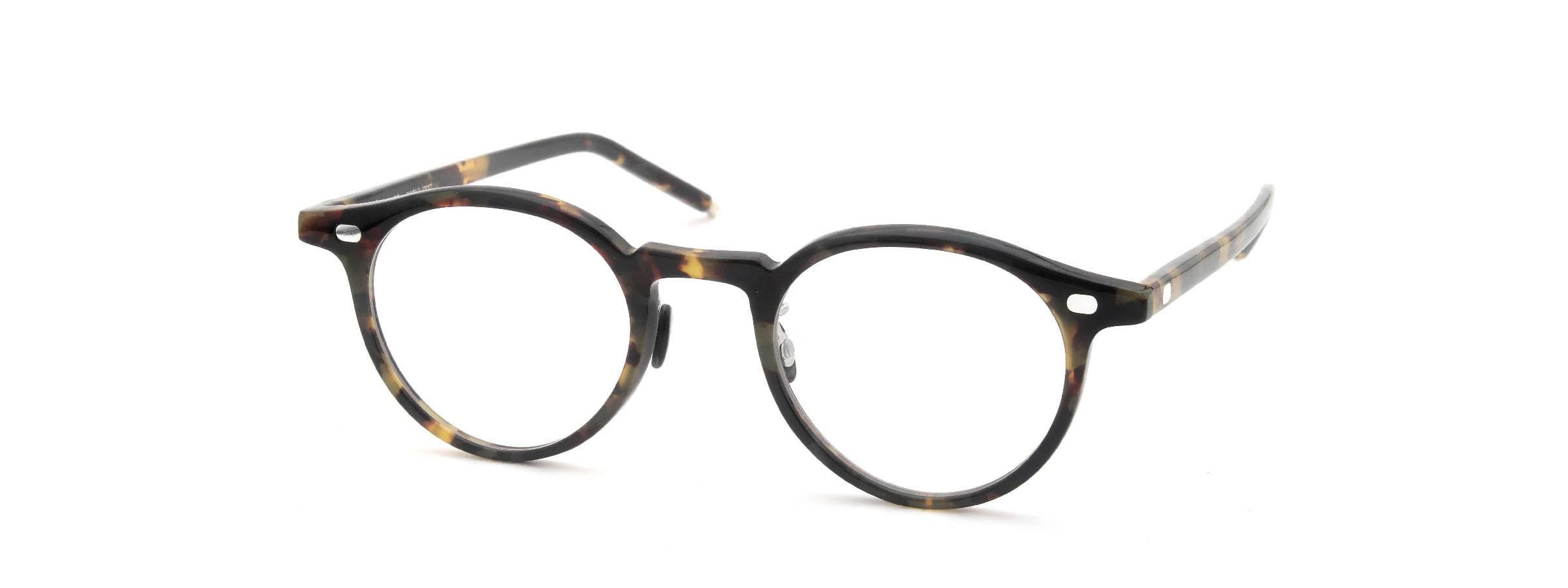 10 eyevan NO.3 Ⅲ 45size  c.1005S Havana全体像