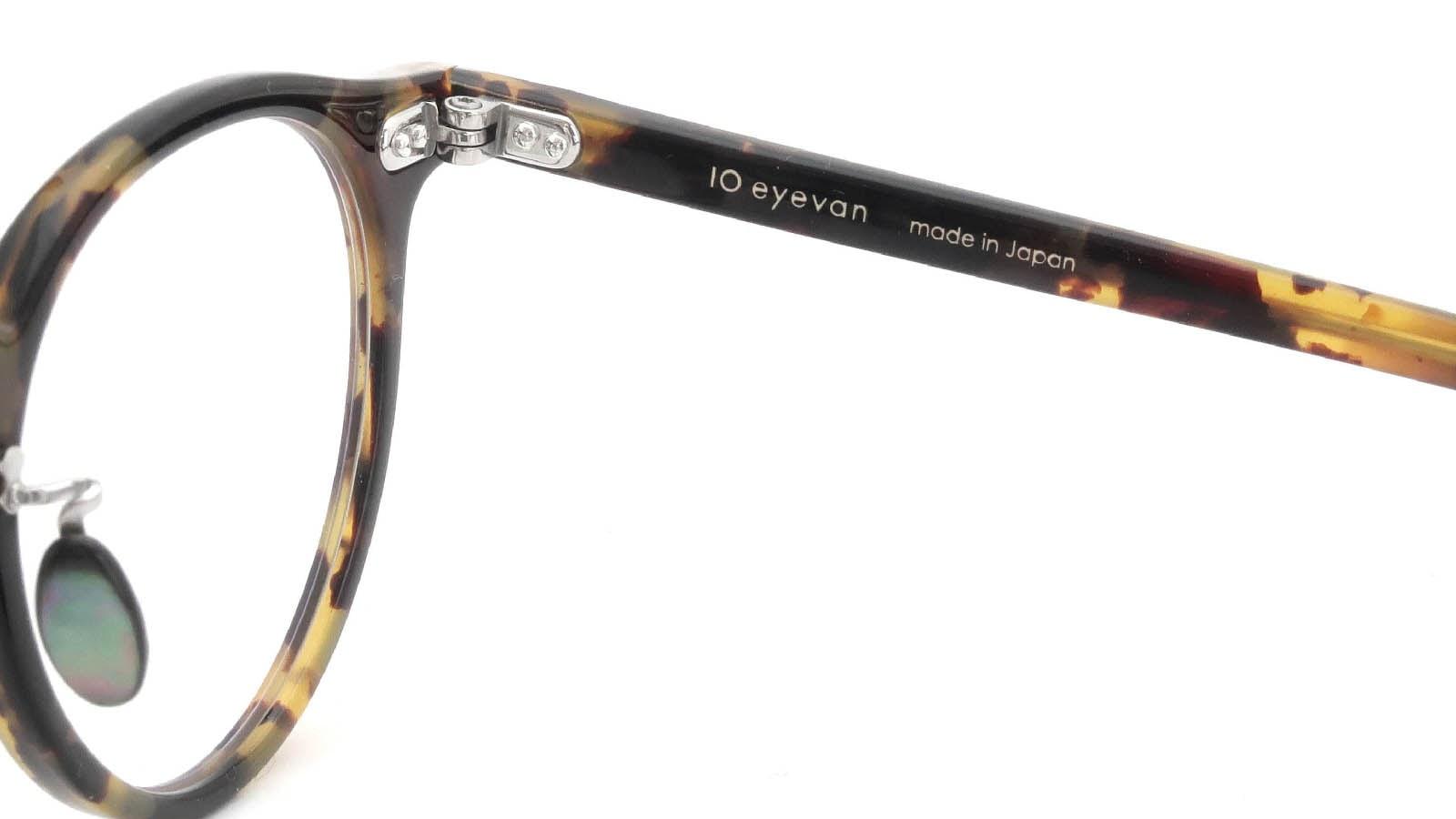 10 eyevan NO.3 Ⅲ 45size  c.1005S Havana 11