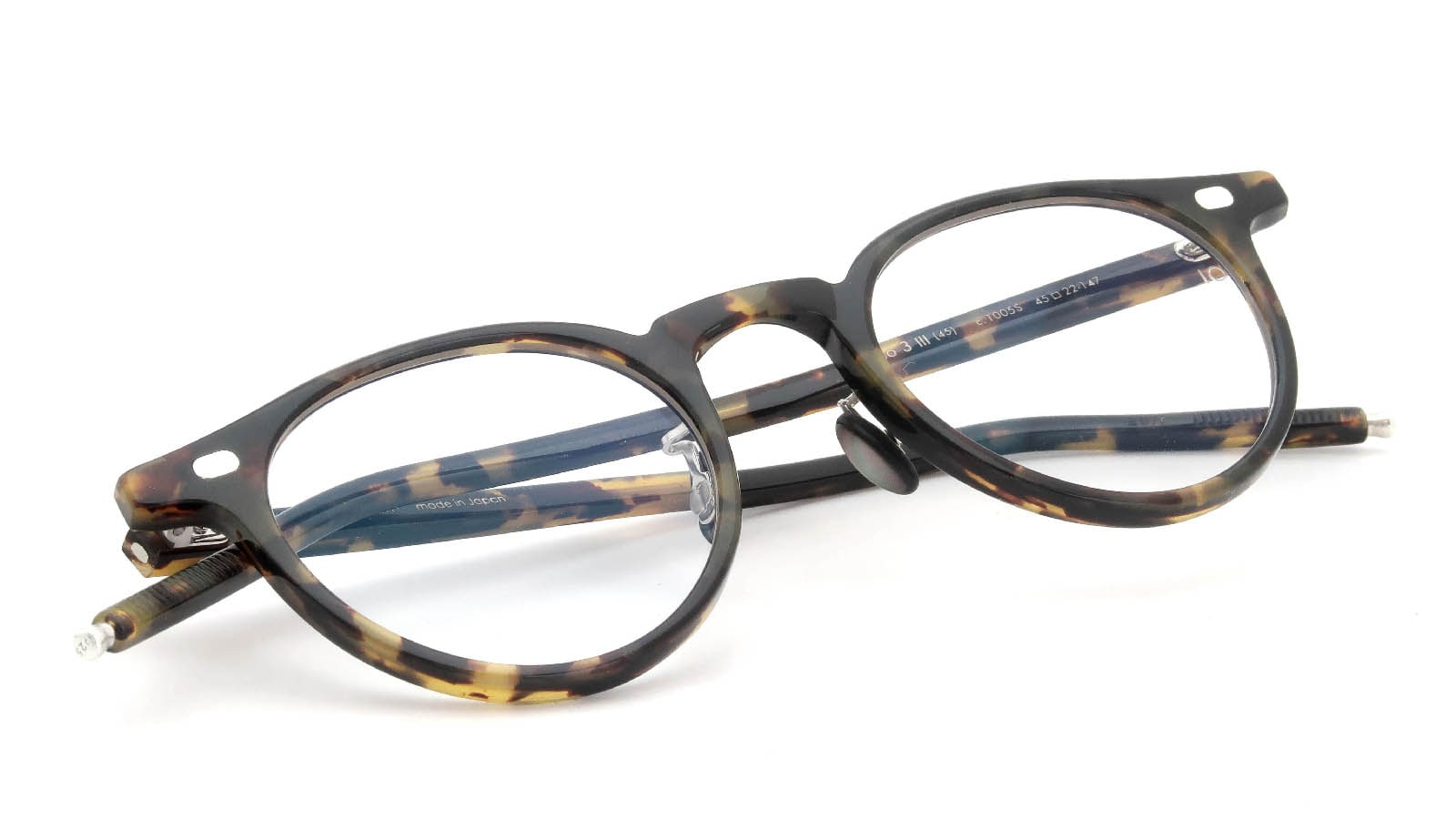 10 eyevan NO.3 Ⅲ 45size  c.1005S Havana 12