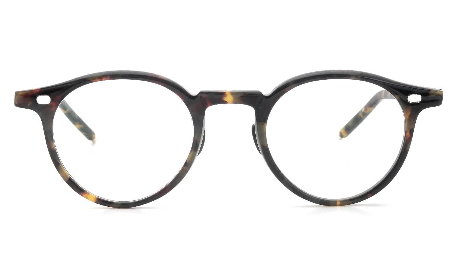 10 eyevan NO.3 Ⅲ 45size  c.1005S Havana  正面詳細