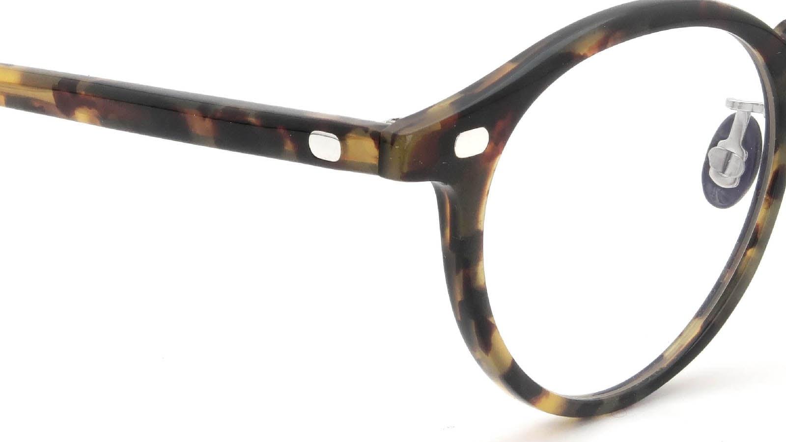 10 eyevan NO.3 Ⅲ 45size  c.1005S Havana ヒンジの詳細