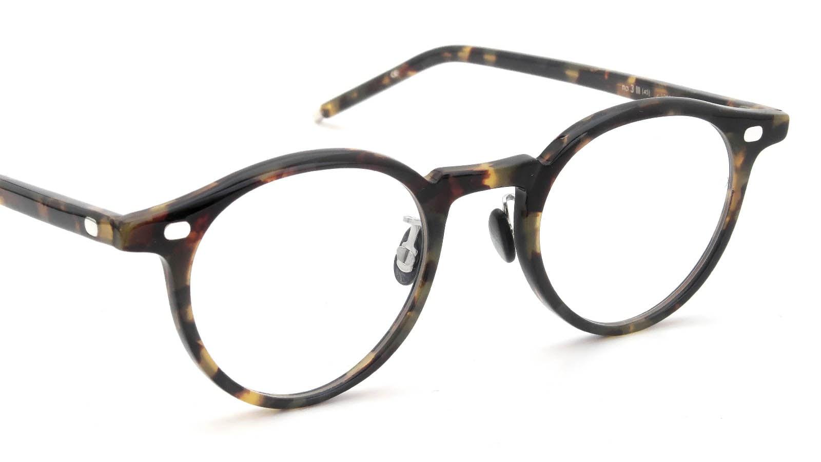 10 eyevan NO.3 Ⅲ 45size  c.1005S Havana 6