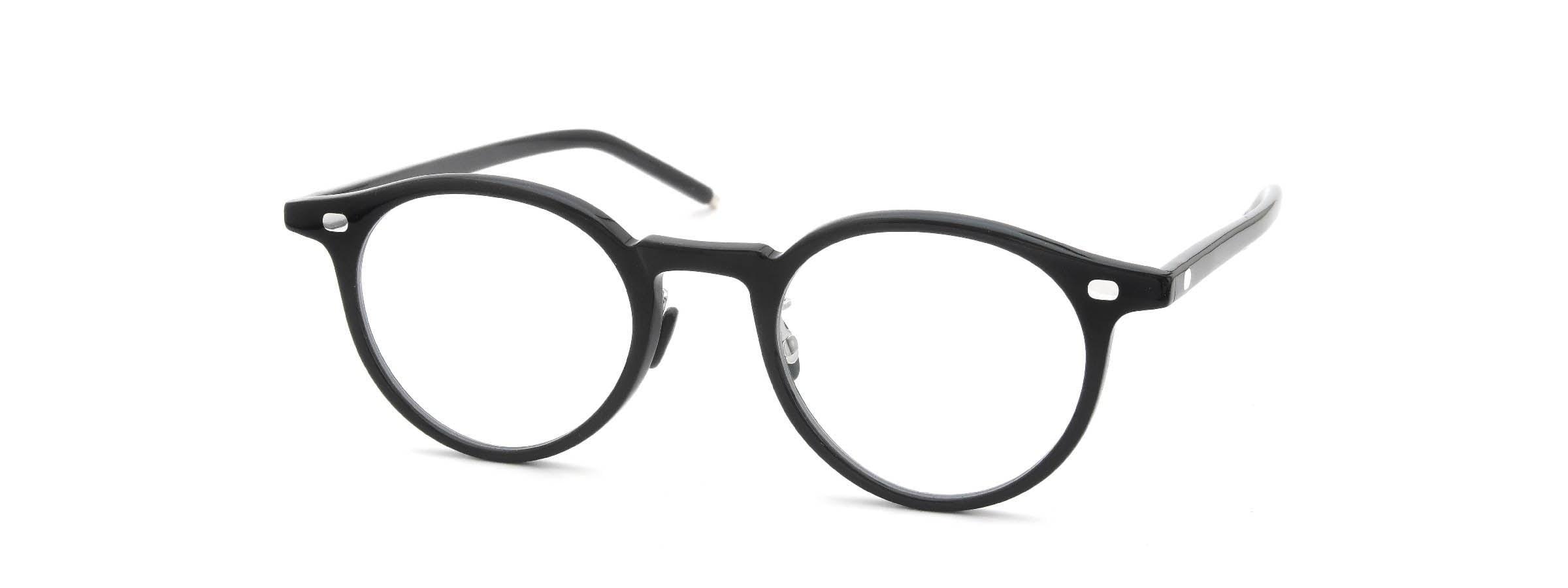 10 eyevan NO.3 Ⅲ 47size  c.1002S Black全体像