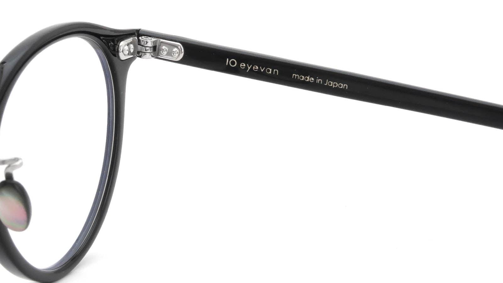 10 eyevan NO.3 Ⅲ 47size  c.1002S Black 11