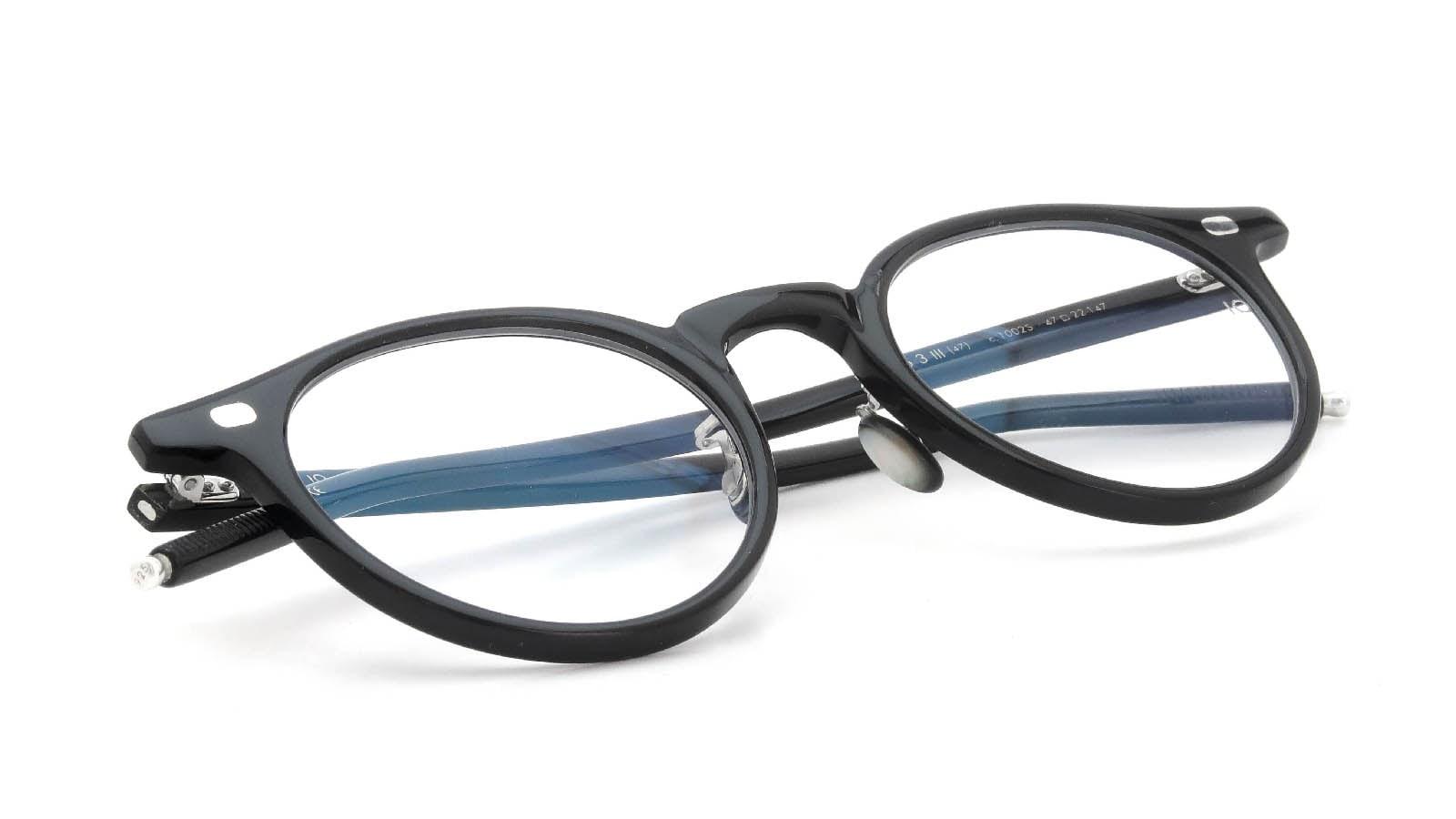 10 eyevan NO.3 Ⅲ 47size  c.1002S Black 12