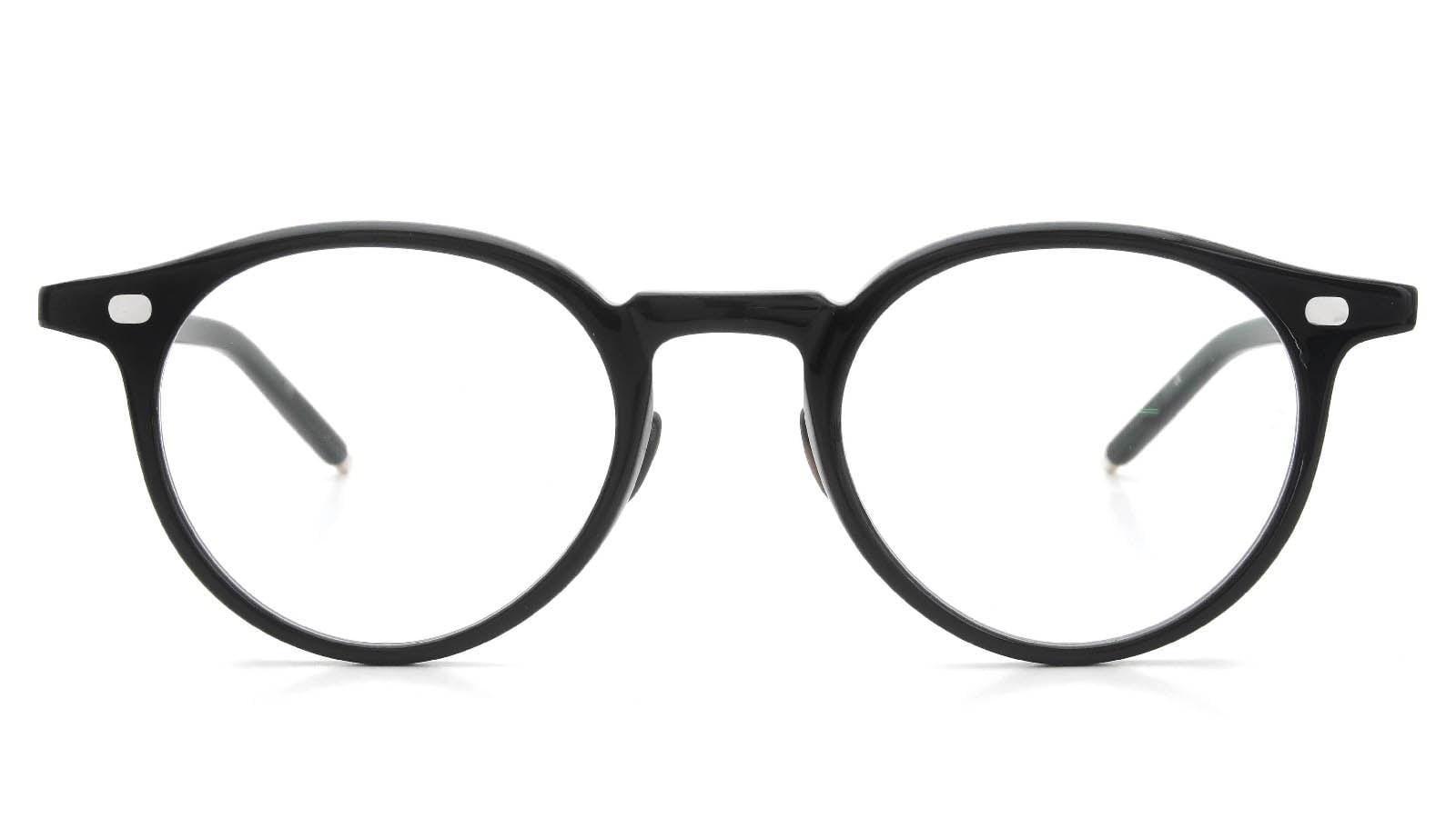 10 eyevan NO.3 Ⅲ 47size  c.1002S Black  正面詳細