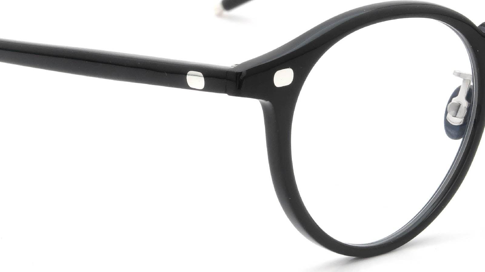 10 eyevan NO.3 Ⅲ 47size  c.1002S Black ヒンジの詳細