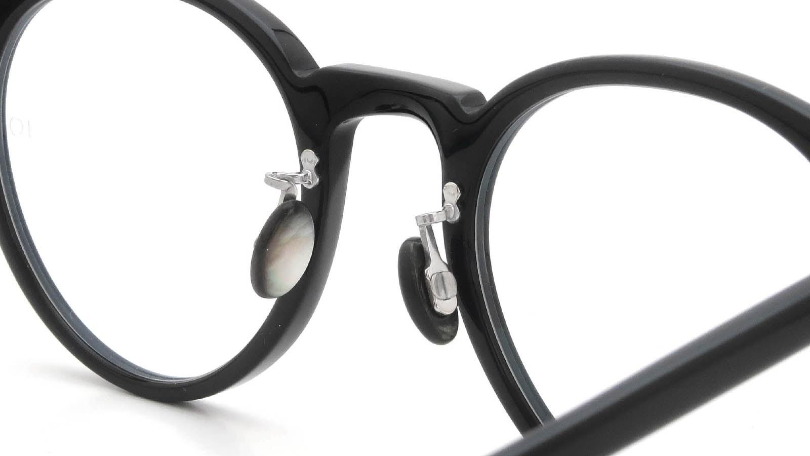 10 eyevan NO.3 Ⅲ 47size  c.1002S Black 8