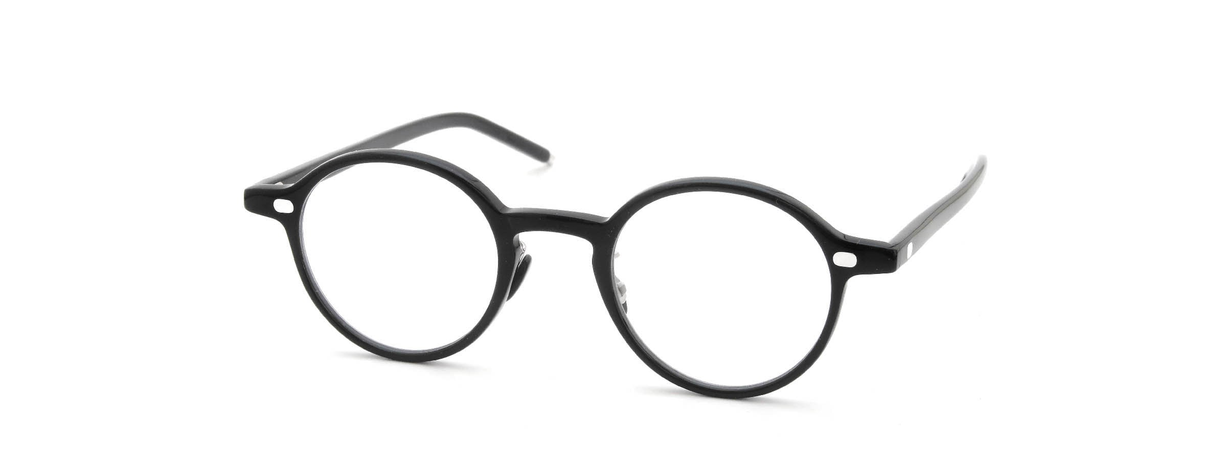 10 eyevan NO.5 Ⅲ 43size  c.1002S Black全体像